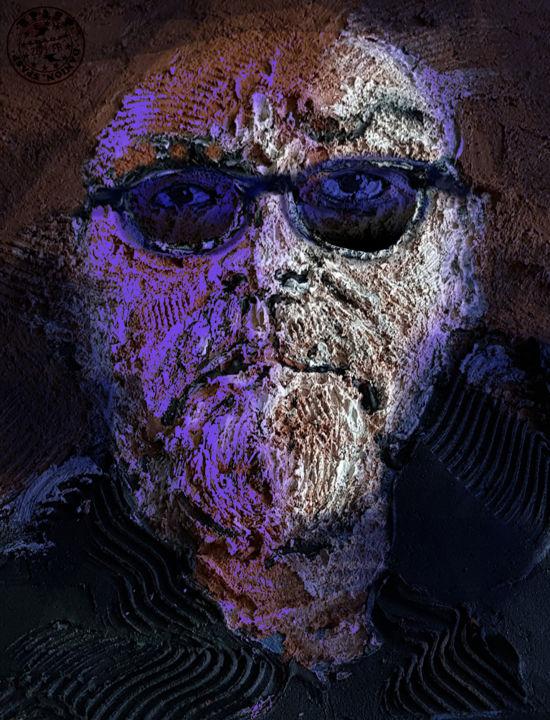 montage numérique créé à partir d'autoportrait