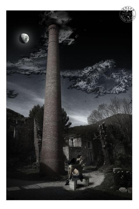 Embrasement sous la cheminée